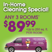 $79.99 For Any 3 Rooms