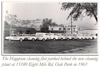 In The 1940s Name Carpet Dyeing Service Company Was Changed To Hagopian Sons Inc Later 1948 Moved A Larger Location At 15180 West 8